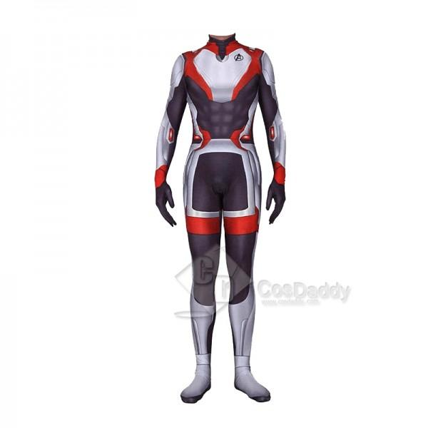 Avengers 4 Endgame Quantum Realm Jumpsuit Cosplay Costume
