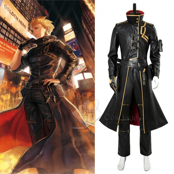 Fate Grand Order FGO Gilgamesh Cosplay Costume