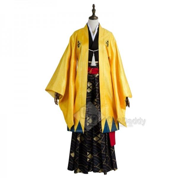 Fate Grand Order FGO Gilgamesh Kimono Cosplay Costume