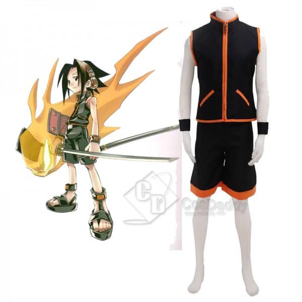 Shaman King Yoh Asakura Battle Suit Cosplay Costum...