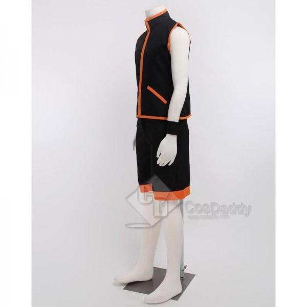 Shaman King Yoh Asakura Battle Suit Cosplay Costume