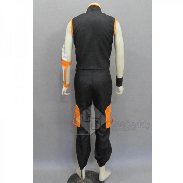 Shaman King Yoh Asakura Battle Suit Trousers Version Cosplay Costume