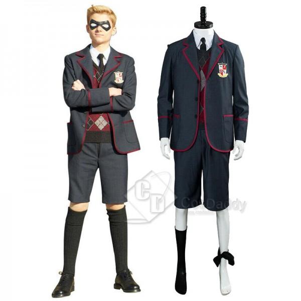2019 The Umbrella Academy School Uniform Cosplay Costume