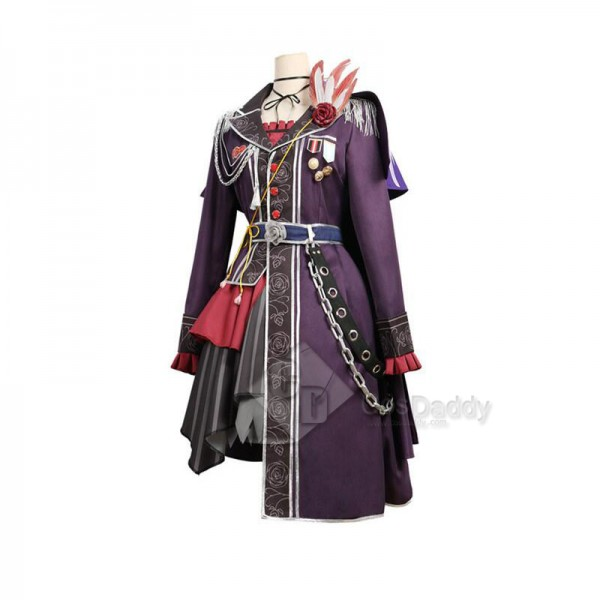 BanG Dream! Roselia 3th live Shirokane Rinko Cosplay Costume