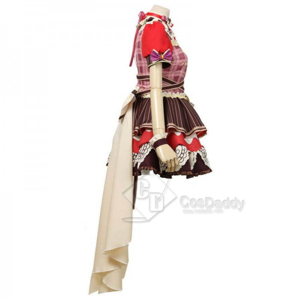 BanGDream! Dustabata Happy Valentine Ichigaya Arisa Cosplay Costume