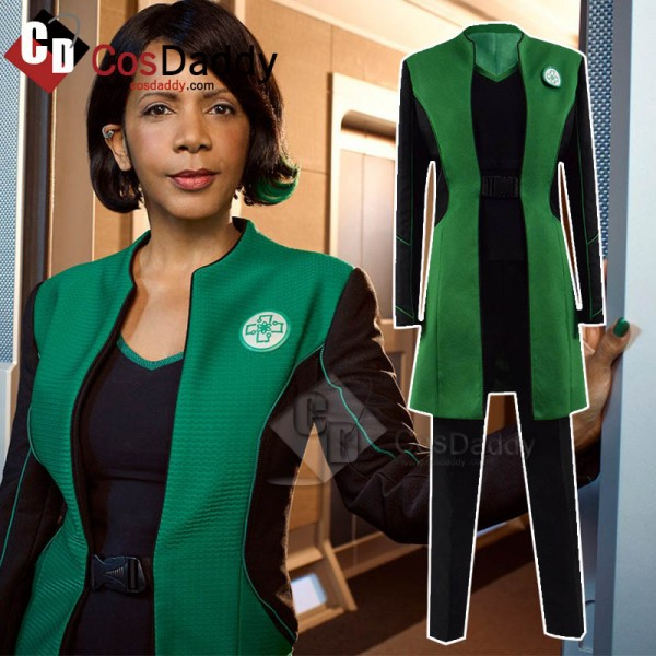 The Orville Dr Claire Finn Green Uniform Cosplay C...