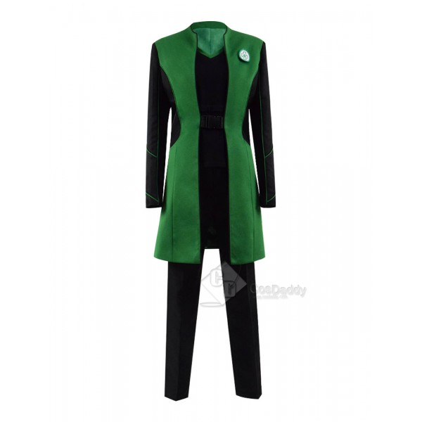 The Orville Dr Claire Finn Green Uniform Cosplay Costume