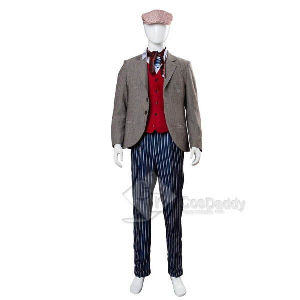 Mary Poppins Returns Jack Lin-Manuel Miranda Cosplay Costume