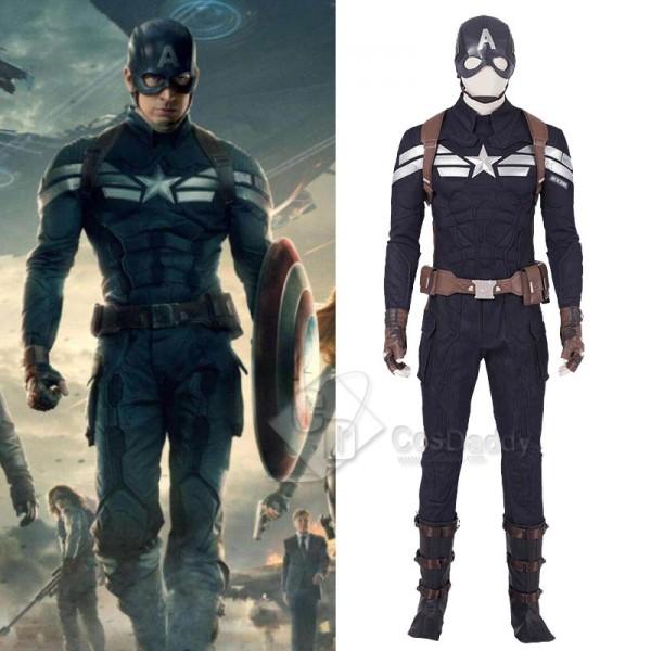 Avengers: Endgame Steve Rogers Captain America Cos...