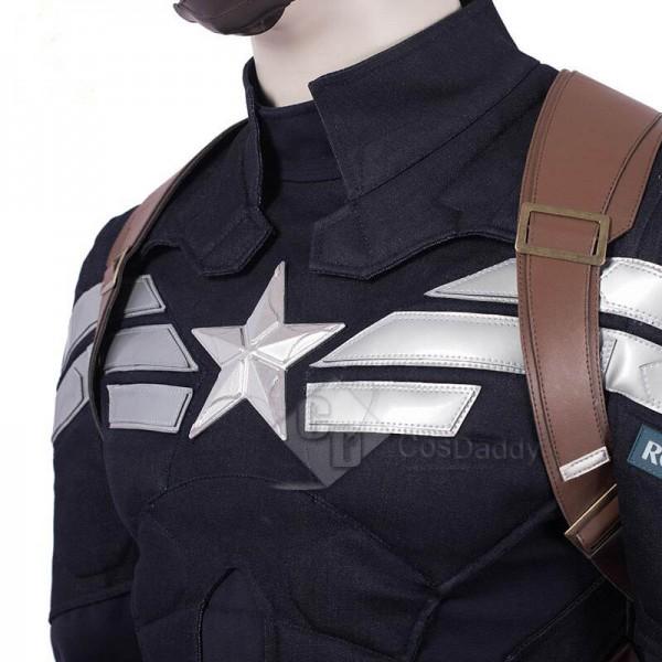Avengers: Endgame Steve Rogers Captain America Cosplay Costume