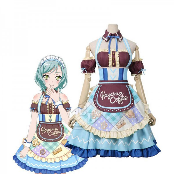 BanG Dream! Hikawa Hina Cosplay Costume