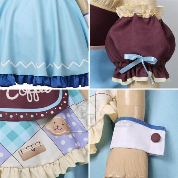BanG Dream! Hikawa Hina Cosplay Costume