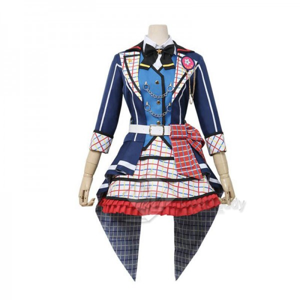 BanGDream! 7thLIVE Poppin'Party Toyama Kasumi Cosplay Costume