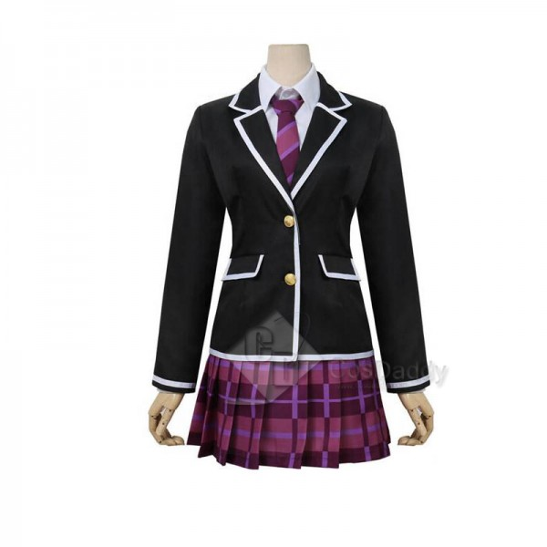 BanG Dream! Mitake Ran School Winter Uniform Cosplay Costume