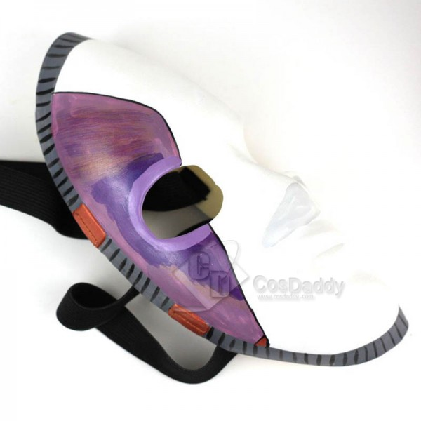 Game Sally Face Mask Cosplay Props White and Purple