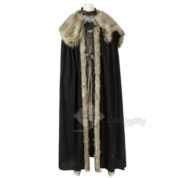 Game of Thrones Season 8 Jon Snow Cosplay Costume