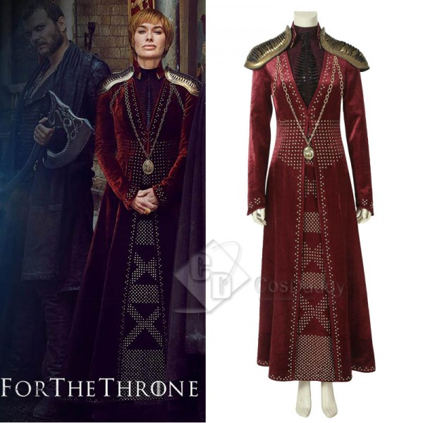 Game of Thrones Season 8 Cersei Lannister Cosplay ...