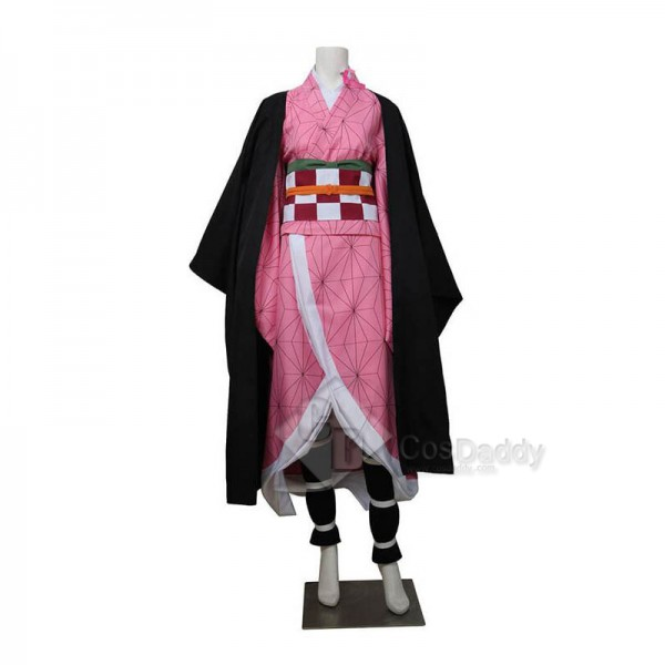 Demon Slayer: Kimetsu no Yaiba Kamado Nezuko Cosplay Costume
