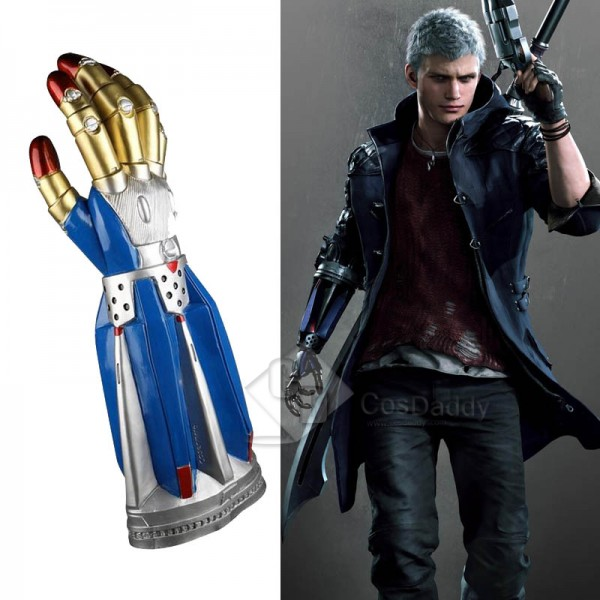 Devil May Cry 5 DMC5 Nero Robot Arm Glove Cosplay ...