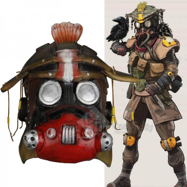 Apex legends Bloodhound Mask Cosplay Accessories H...
