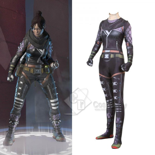 Apex legends Wraith 3D Printed Jumpsuit Cosplay Co...