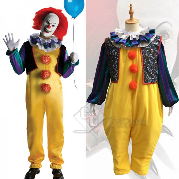 Stephen King's It Pennywise Fancy Suit Cosplay Cos...