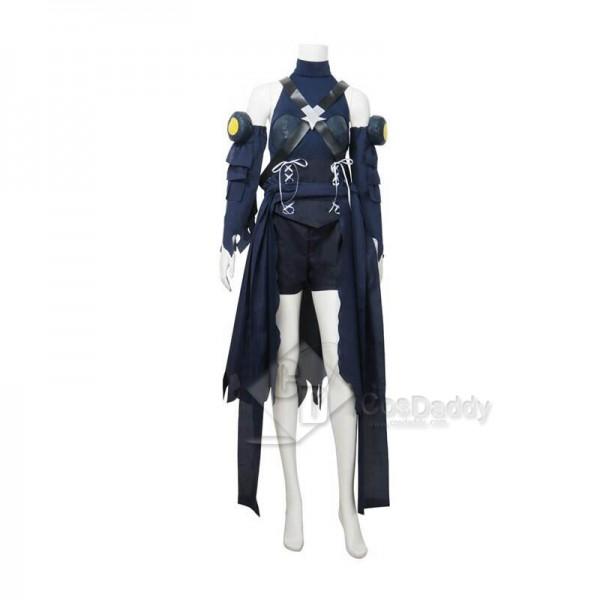 Kingdom Hearts III 3 Aqua Cosplay Costume