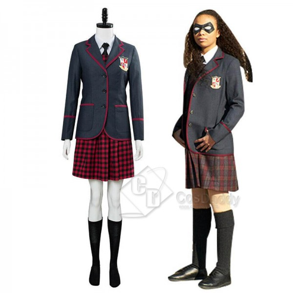 The Umbrella Academy Girl's School Uniform Cosplay...
