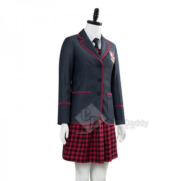 The Umbrella Academy Girl's School Uniform Cosplay Costume