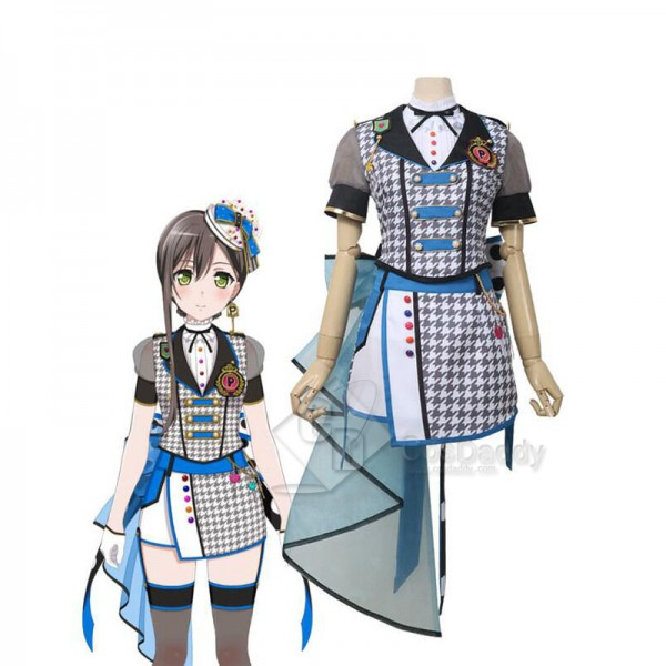 BanG Dream! Poppin'Party Hanazono Tae Cosplay Co...