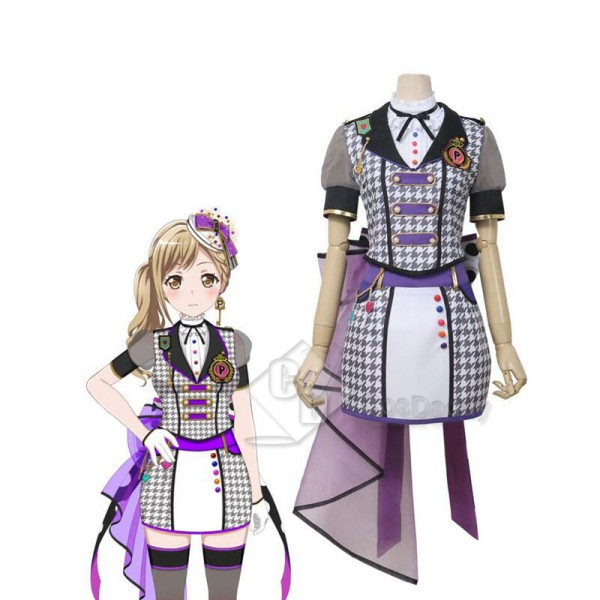 BanG Dream! Poppin'Party Ichigaya Arisa Cosplay Costume