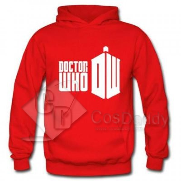 Doctor Who Hoodie Hooded Sweater Pullover Jacket