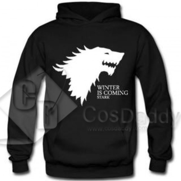 Game of Thrones Black Hoodie Hood Sweater
