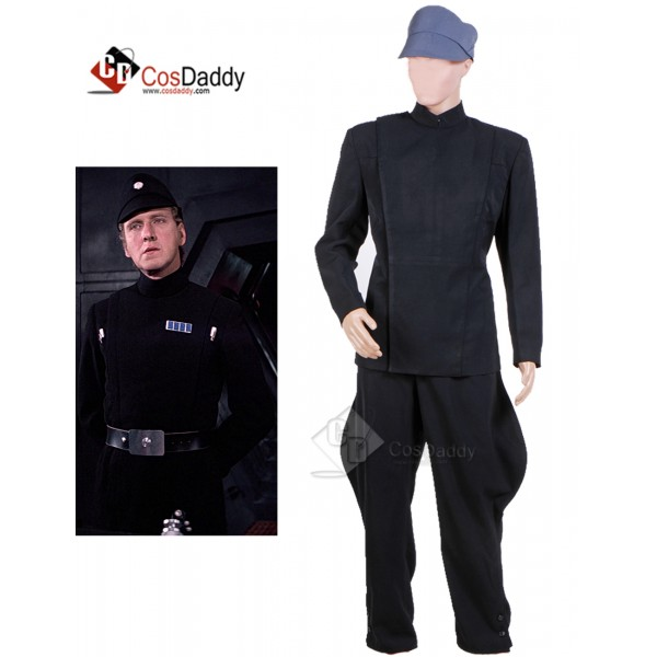 Star Wars Imperial Officer Uniform Cosplay Costume...