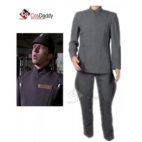 Star Wars Imperial Officer Uniform Grey Cosplay Co...