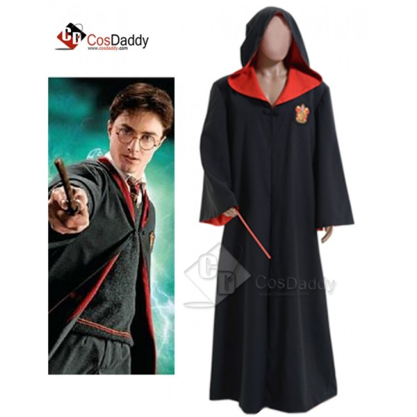Harry Potter Gryffindor of Hogwarts Robe Cosplay C...