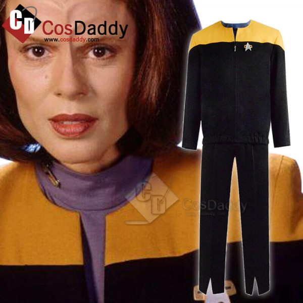 Star Trek Deep Space Nine Voyager Starfleet Yellow...
