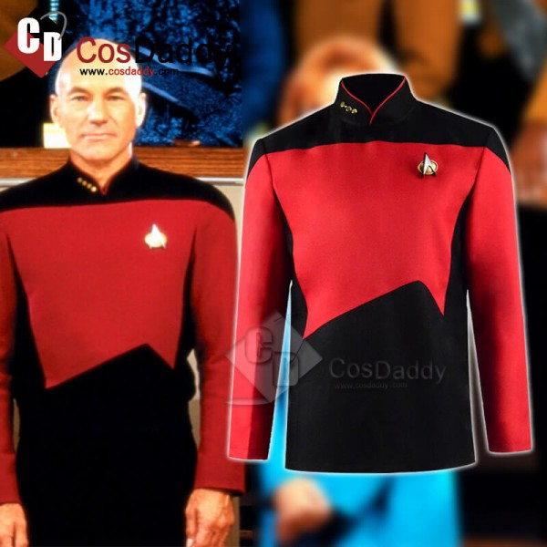 Star Trek The Next Generation Captain Picard Unifo...