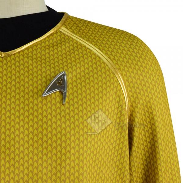 Star Trek Into Darkness Captain Kirk Shirt Cosplay Costume
