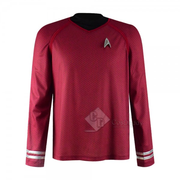 Star Trek Into Darkness Red Captain Man's Cosplay ...
