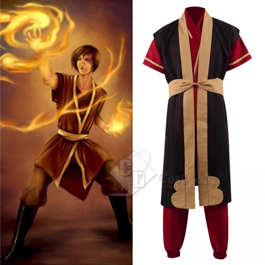 Avatar The Legend of Korra Zuko Cosplay Costume