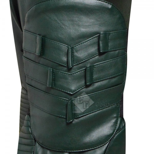 DC Comics Green Arrow Season 8 Oliver Queen Cosplay Costume Outfit