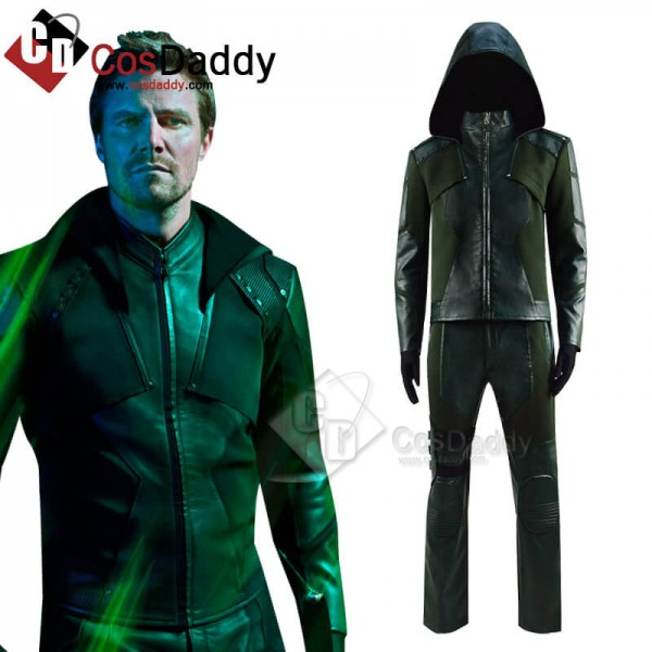 DC Comics Green Arrow Season 8 Oliver Queen Cospla...