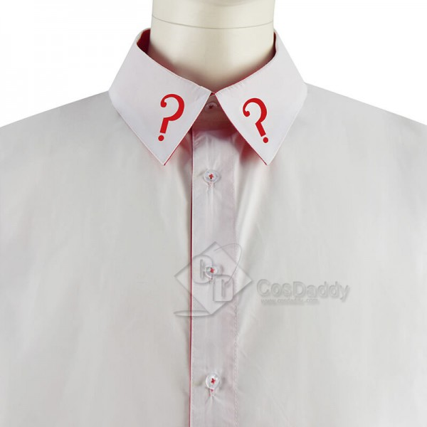 CosDaddy Doctor Who Fifth 5th Doctor Shirt Cosplay Costume