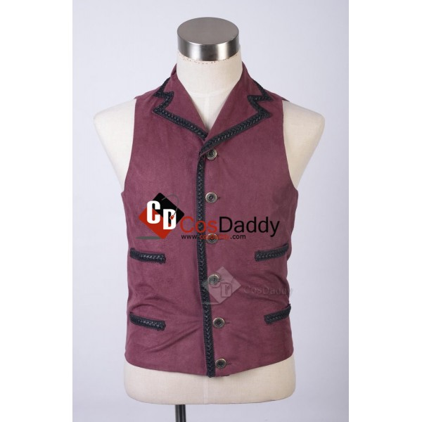 Doctor Who Eleventh 11th Doctor Purple Waistcoat V...