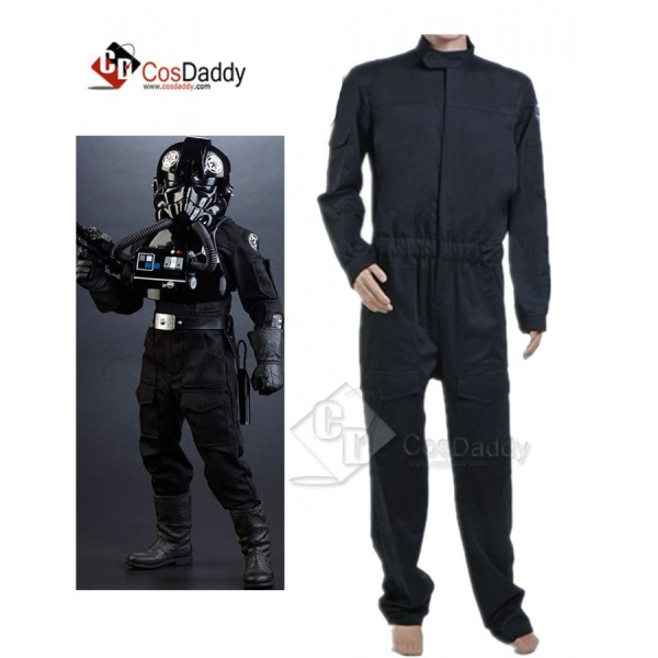 Star Wars Imperial Tie Fighter Pilot Black Flights...