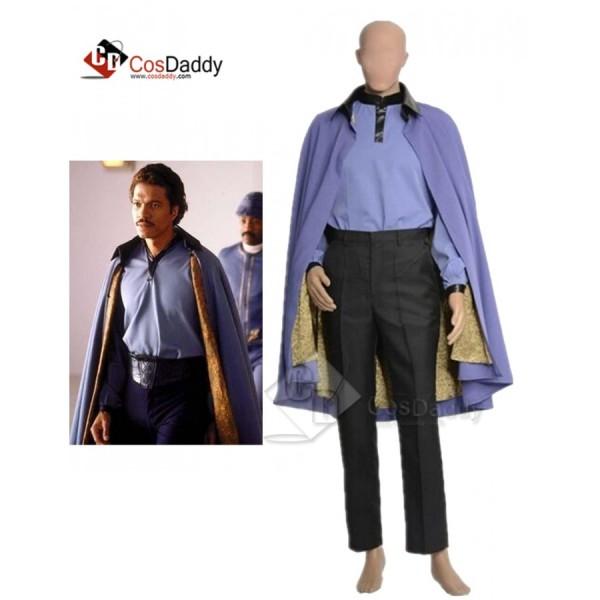 Star Wars Lando Calrissian Uniform Cosplay Costume