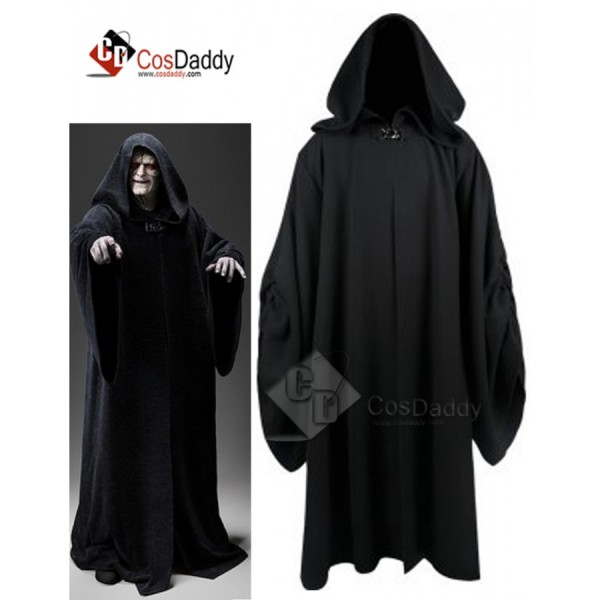 Star Wars Palpatine Robe Cosplay Costume