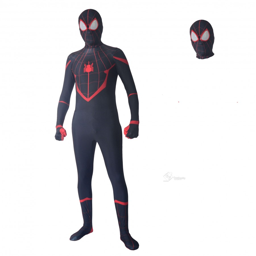 Batman Beyond Spider-man Cosplay Costume Spiderman Jumpsuit Halloween Unisex Cos