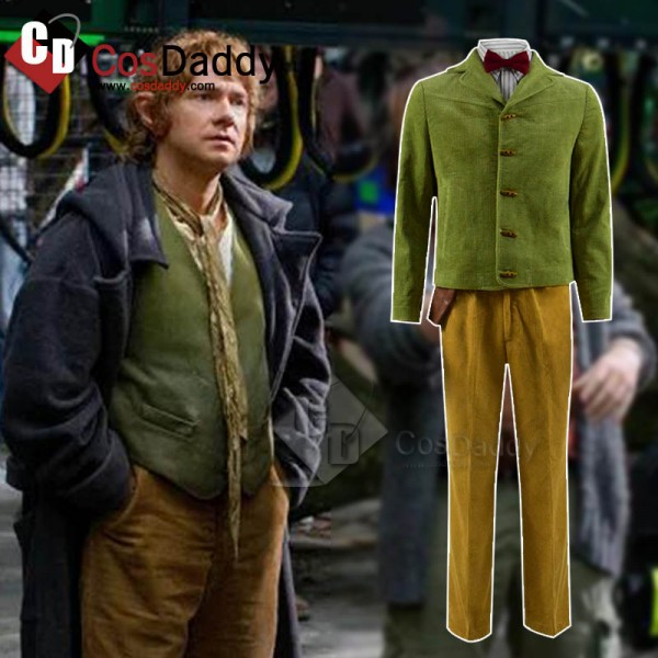 The Hobbit Bilbo Baggins Cosplay Costume